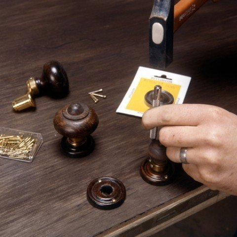 Make sure all nails are well put and the lock is firmly placed.
